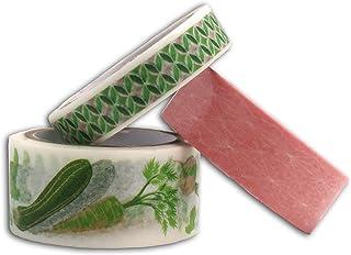 Toga Oh My Green Lot de 3 Masking Tape, Autre, Vert/ Rose, 500 x 1 x 0.1 cm