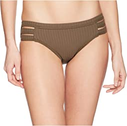 Seafolly Inka Rib Multi Strap Hipster Bottoms
