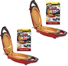 Red Copper 5 Minute Chef by BulbHead Includes Recipe Guide (2 Pack)