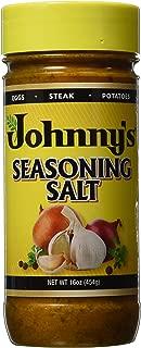 Johnny's Seasoning Salt 16 Oz (Pack of 3)