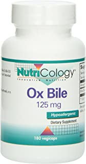 Ox Bile 125 mg 180 Capsules