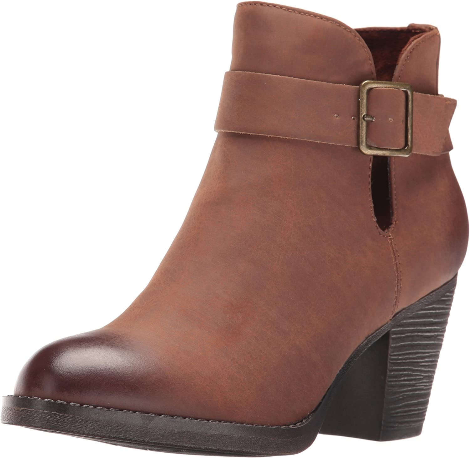 BC Footwear Womens Cuddle Ankle Bootie