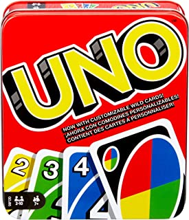 Mattel Games UNO: Classic (Tin Box) [Amazon Exclusive]