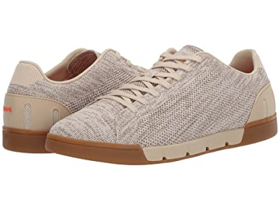 SWIMS Breeze Tennis Knit (Chino Green/Gum) Men