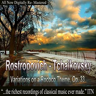 Rostropovich - Tchaikovsky, Variations on a Rococo Theme, Op. 33