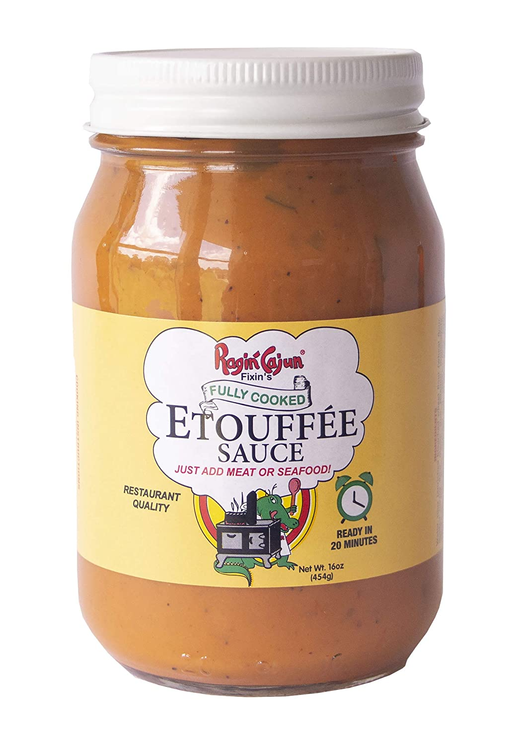 Etouffée Sauce Fully Cooked 16 oz Ragin' Cajun Foods (Pack of