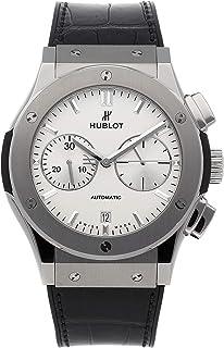 Hublot - Classic Fusion 521.NX.2611.LR - Reloj cronógrafo para hombre (esfera de color blanco opalino, titanio)