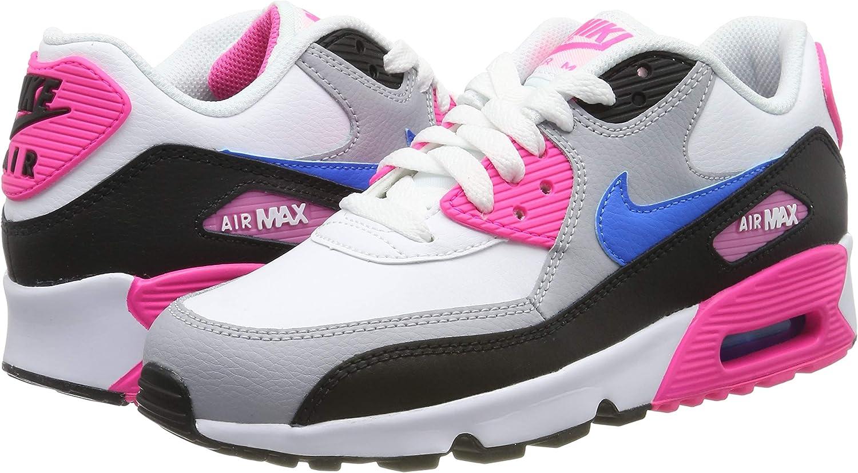 Nike Air Max 90 LTR (GS), Scarpe da Ginnastica Bambina