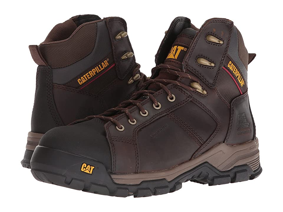 Caterpillar Carbondate Nano Toe (Dark Brown) Men