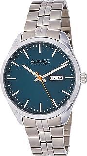 August Steiner Mens Quartz Watch, Analog Display and Stainless Steel Strap AS8271TQ