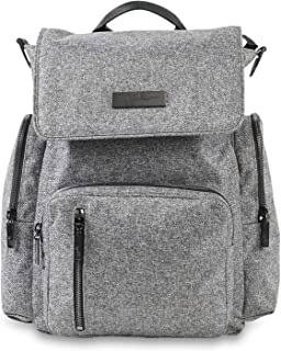 JuJuBe Be Sporty Backpack/Diaper Bag Onyx Collection, Gray Matter, One Size