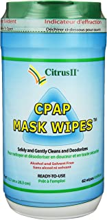 Citrus II Cpap Mask Wipes Qty: 62 Wipes
