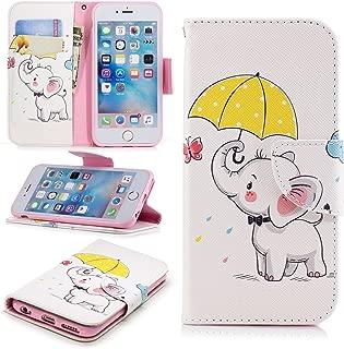 Lomogo iPhone6Sケース / iPhone6ケース 手帳型 耐衝撃 レザーケース 財布型 カードポケット スタンド機能 マグネット式 アイフォン6S / 6 手帳型ケース カバー 人気 - LOBFE11241#8
