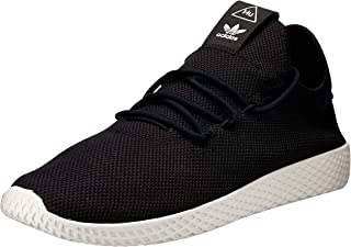adidas Mens Pharrell Williams Tennis HU Textile Core Black Chalk White Trainers 12 US