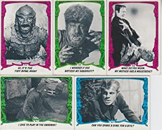 topps creature feature cards