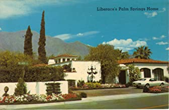 Liberace's Palm Springs Home Post Card 70's