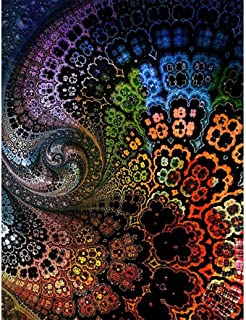 Oucan 5D Diamond Painting,Flower Diamond Painting Embroidery Art Craft Home Decoration Diamond Painting Kits for Adults
