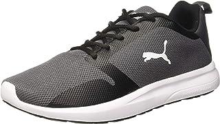 Puma Men's Feet Rodeo X2 Idp Asphalt Black-SIL Running Shoes