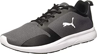 Puma Men's Feet Rodeo X2 Idp Asphalt Black-SIL Running Shoes