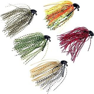 thkfish Fishing Lures Fishing Jigs Swim Jigs Fishing Jigs Bass Mix Color Metal Lead Fishing Jigs Kit 1/4oz 3/8oz 1/2oz 5pcs/10pcs