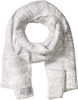 Marled Sequin Fuzzy Scarf