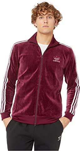 Velour BB Track Top