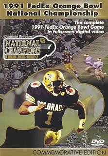 1991 FedEx Orange Bowl National Championship