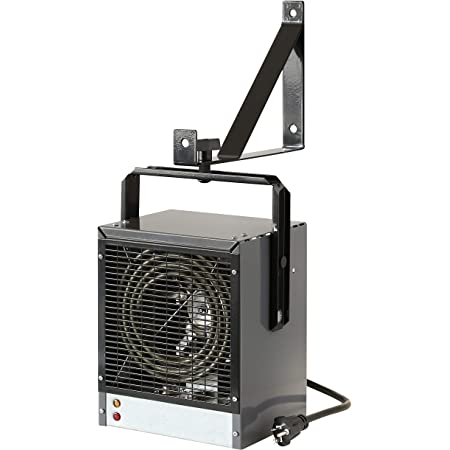 DIMPLEX DGWH4031G Garage and Shop Large 4000 Watt Forced Air, Industrial, Space Heater in, 11 x 7.25 x 9 inches, Gray/Black Finish