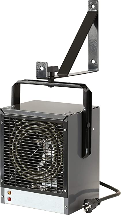 DIMPLEX DGWH4031G Garage and Shop Large 4000 Watt Forced Air, Industrial, Space Heater in, 11 x 7.25 x 9 inches, Gray/Black Finish: image