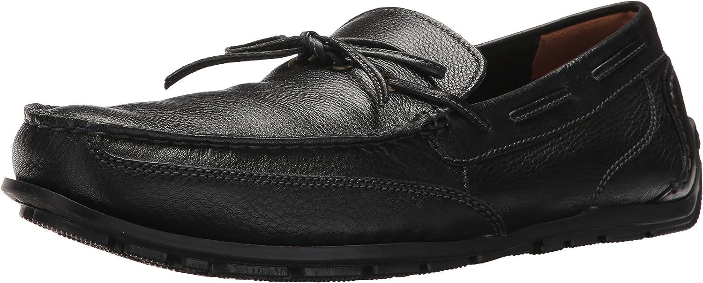 CLARKS männens Besvart Besvart Besvart Edge svart läder 10 D USA  modern