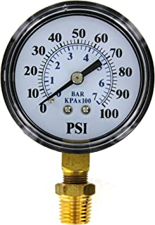 Parts2O TC2104 Well Pump Pressure Gauge