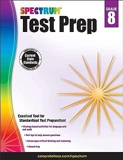 Carson-Dellosa Spectrum Test Prep Workbook, Grade 8
