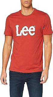 Lee Woobly Logo tee Camiseta para Hombre