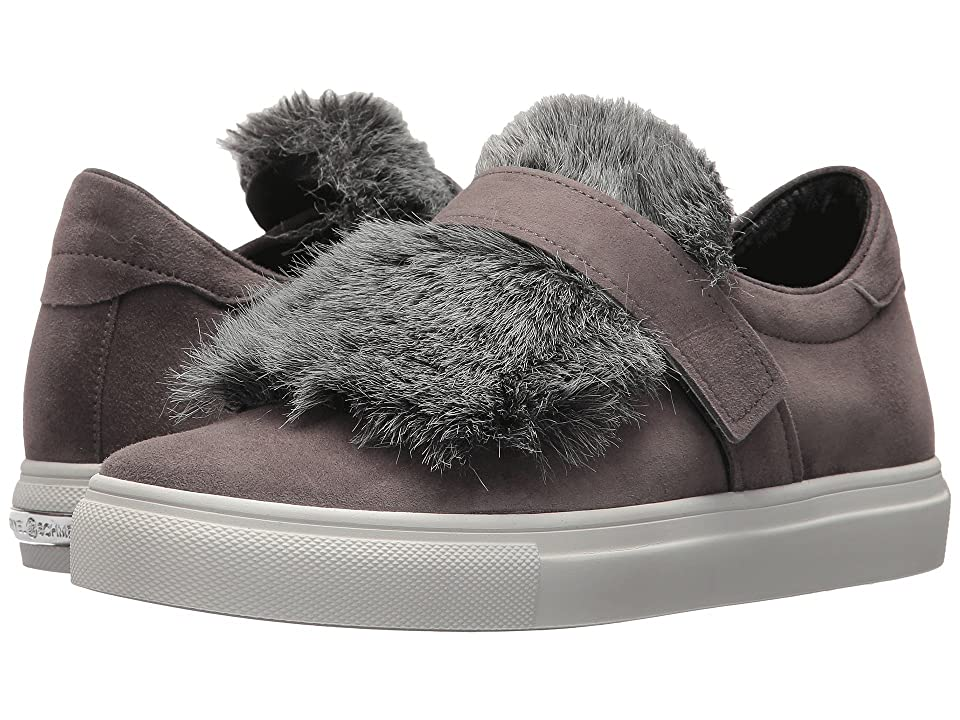 Kennel & Schmenger Basket Faux Fur Sneaker (Slate Samtziege/Faux Fur) Women