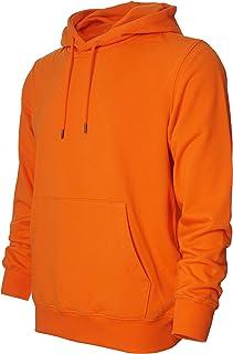 GMYG Men's/Women's Classic Plain Color Zip Hoodie Pullover Jumper Kangaroo Pocket Premium 100% Cotton Sweatshirts
