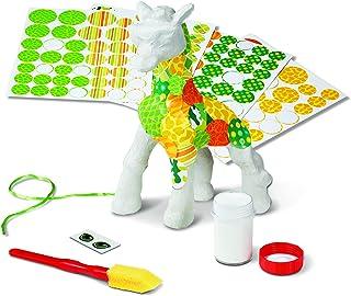 Melissa & Doug Decoupage Made Easy Giraffe Paper Mache Craft Kit With Stickers
