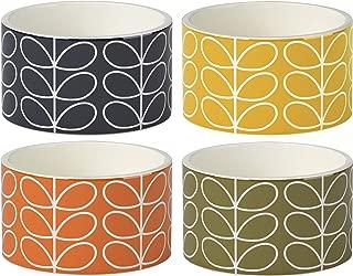 Orla Kiely | Linear Stem | Ramekins | Set of Four | Ceramic