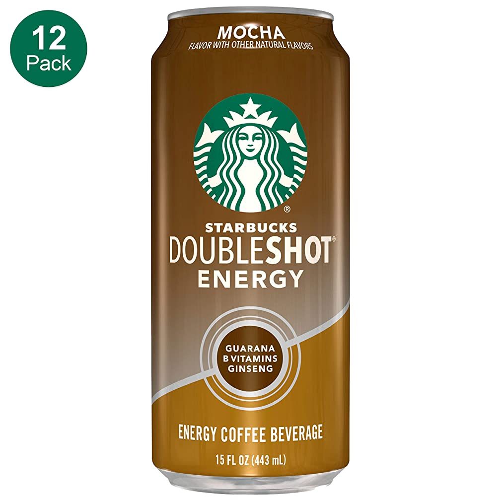 Starbucks, Doubleshot Energy Coffee, Mocha, 15 fl oz. cans (12 Pack)