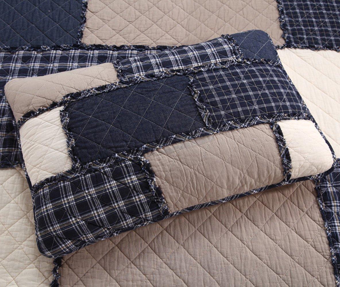 mixinni® Pure algodón funda de almohada una par/2 funda de ...