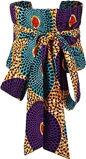 HongyuAmy Women African Belt Kente Print Belt