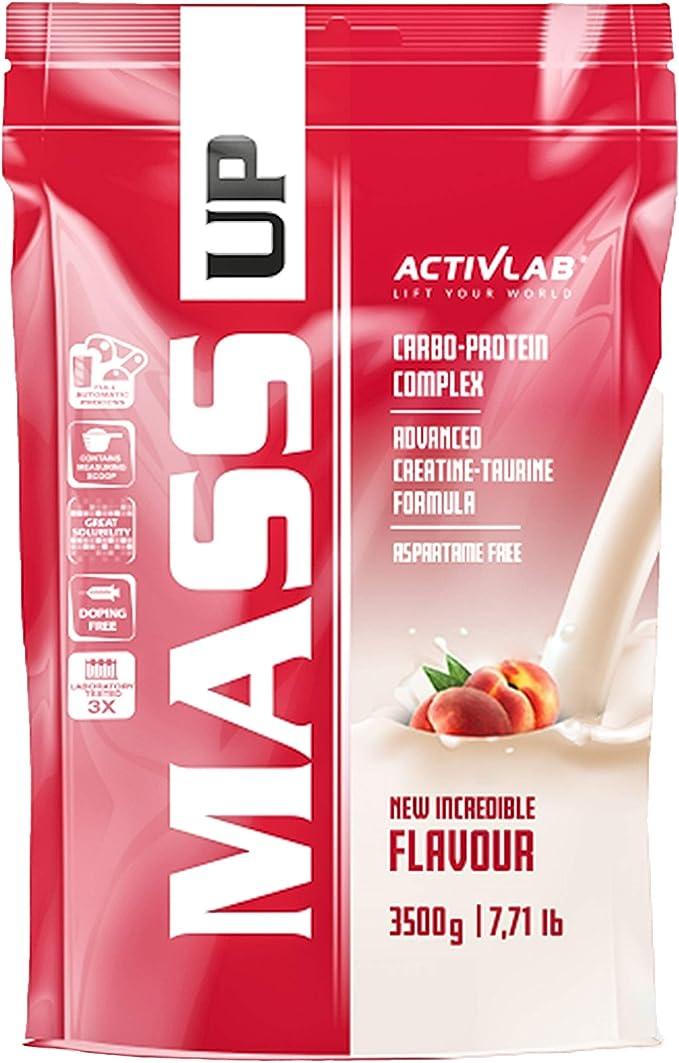 Activlab Mass Gainer - Complejo de proteínas y carbohidratos de suero - Creatina y taurina - Sin aspartamo (Coffee, 5kg)
