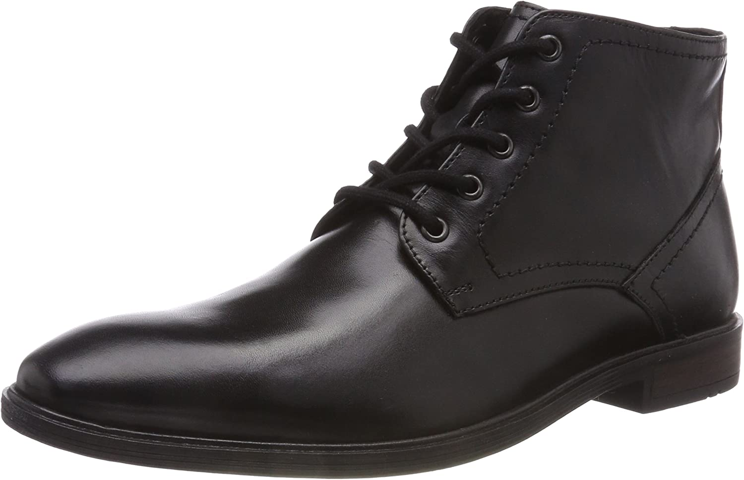 Josef Seibel Jonathan 06 Mens Leather Chukka Lace Up Zip Ankle Boots