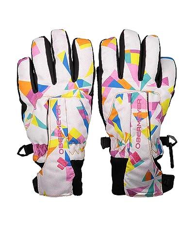 Obermeyer Kids Thumbs Up Gloves Print (Little Kids/Big Kids) (Cartwheel) Extreme Cold Weather Gloves
