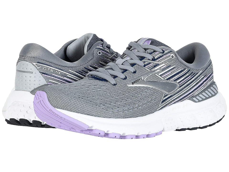 Brooks Adrenaline GTS 19 (Grey/Lavender/Navy) Women