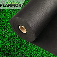 weed barrier landscape fabric - weed blocker fabric heavy duty - garden fabric roll - black landscape cloth 3 x 300 foot