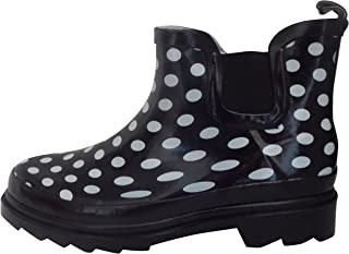 Starbay Women's Short Ankle Rubber Rain Boots Multiple Styles Available