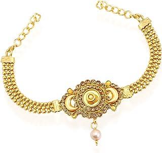 28721-armlet-bajuband Jewelshingar Jewellery Fine Gold Plated Bajuband for Women
