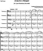 Away In A Manger for 5-part Trombone Ensemble Quintet