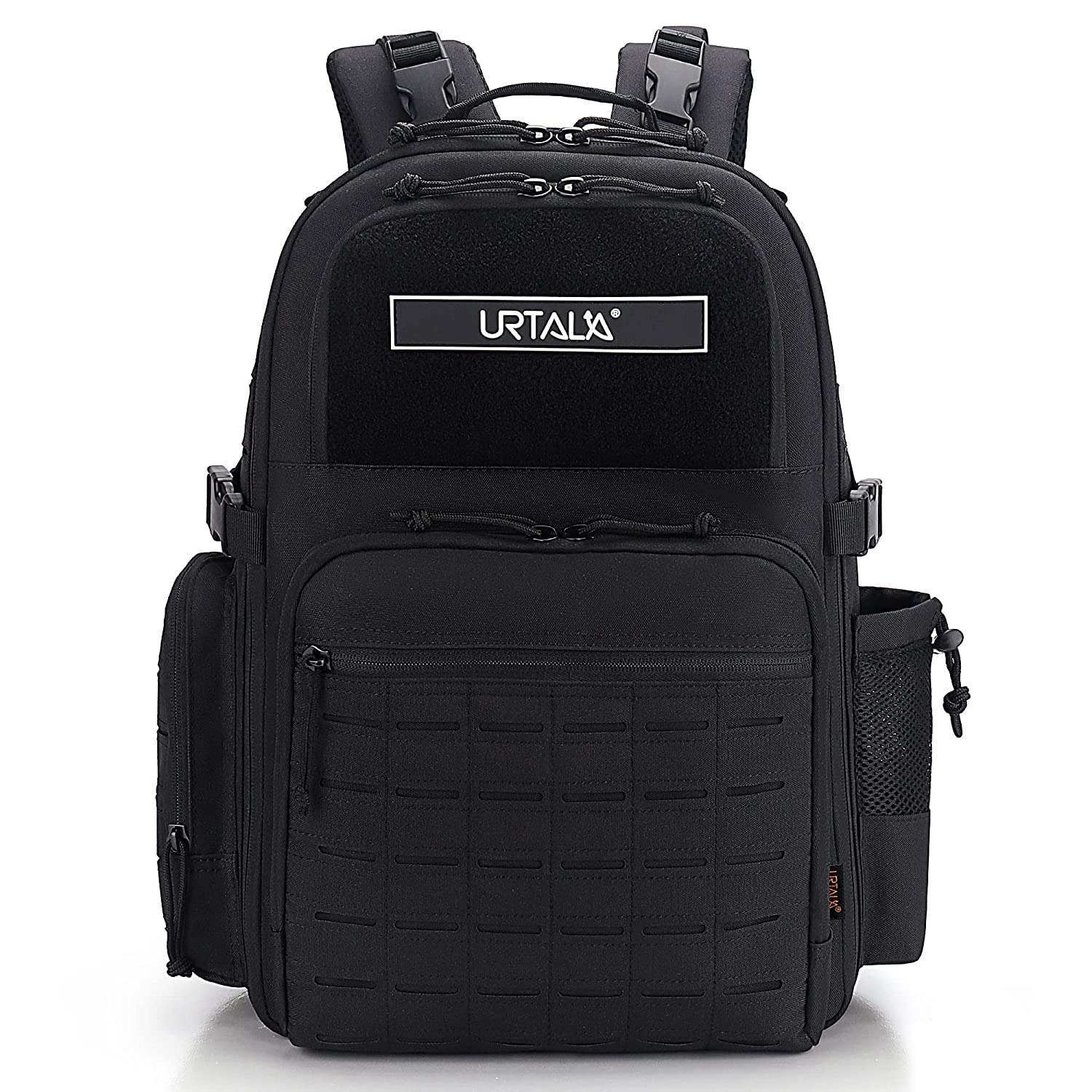 Diaper Bag Backpack for dad, Urtala Military Baby Bag for Mom/Boy/Girl, Large Travel Unisex Nappy Bag, Waterproof Maternity Back Pack with Wipe Dispenser, Stroller Strap, Patch & Insulated Pocket