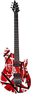 EVH Wolfgang Special Striped - Red with Black and White Stripes